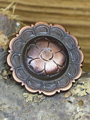 Kit Concho cuivre fleur centrale X 6
