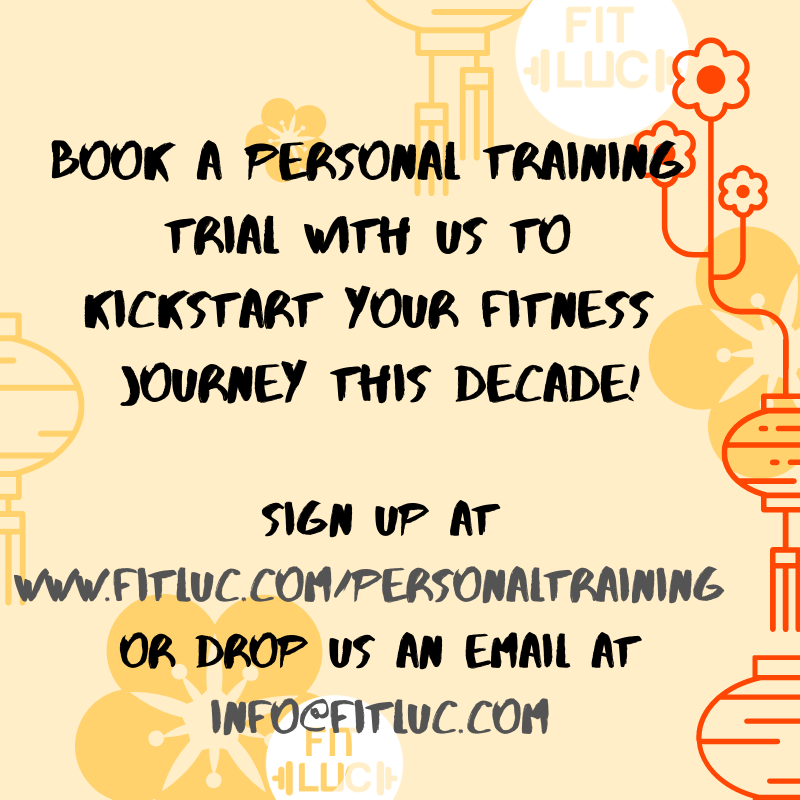 Stay healthy with FITLUC personal training
