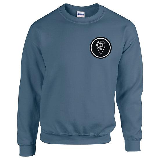 Emperor Sweatshirt (Indigo Blue)