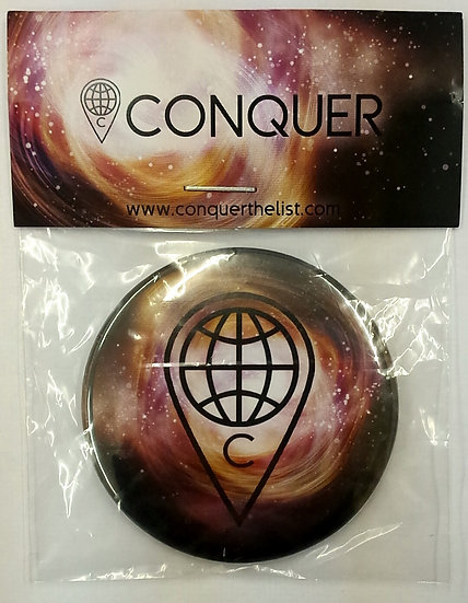 """The Centre of the Universe"" Pocket Mirror"
