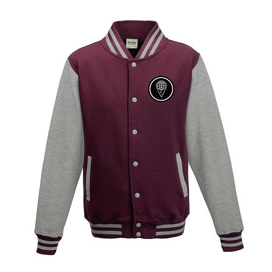 Legacy Varsity Jacket (Burgundy)