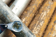 Mine site exploration drilled core sampl