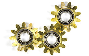 Gold gears for Forte dynamics, forte ana