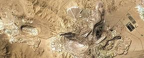 Nasa Chuquicamata open pit heap leach mi