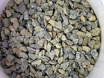 Gold Ore Crush Size Samples for Column t