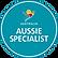 Selo de Aussie Specialist