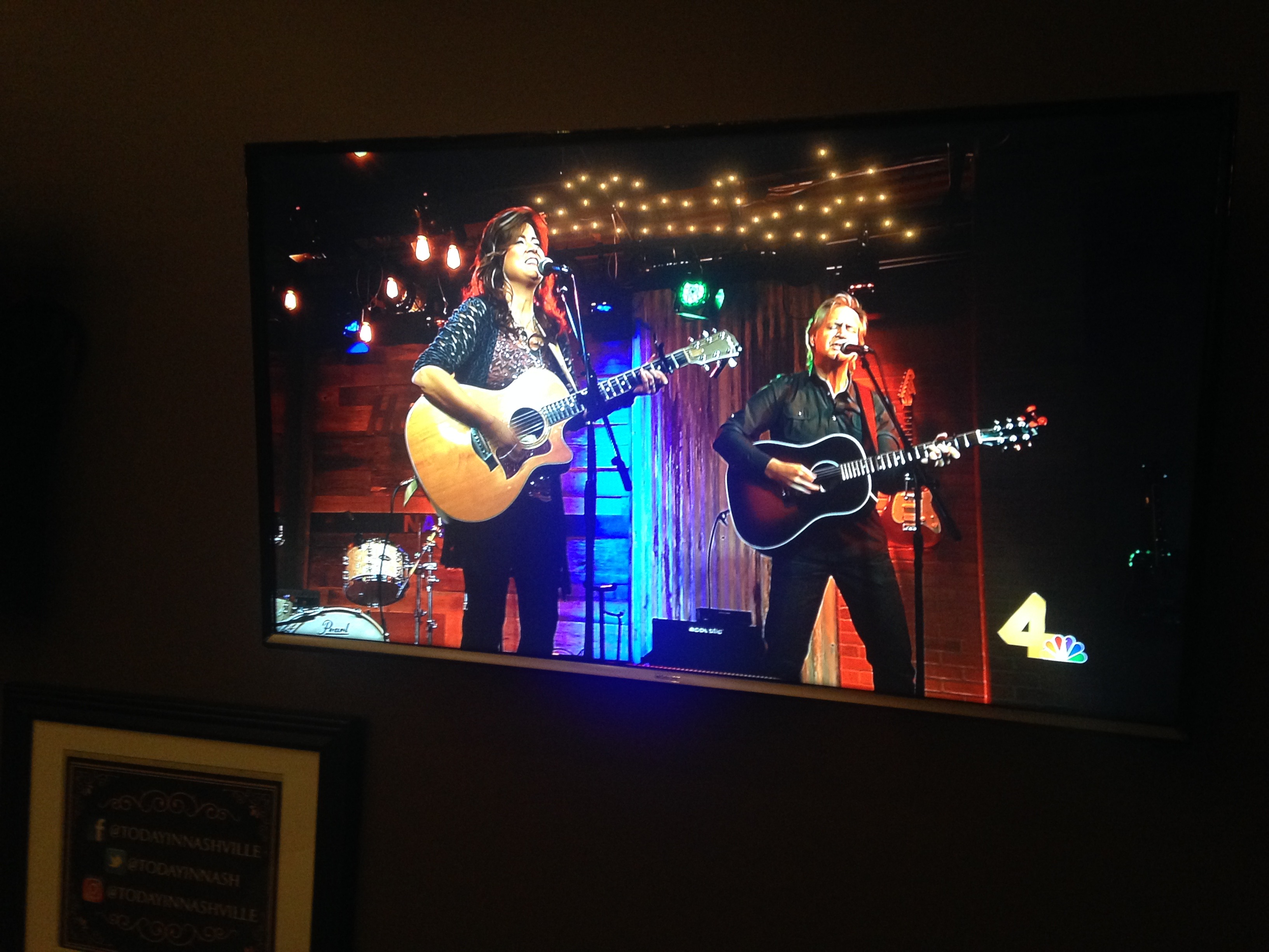 Singing it on TV w/Victoria Venier