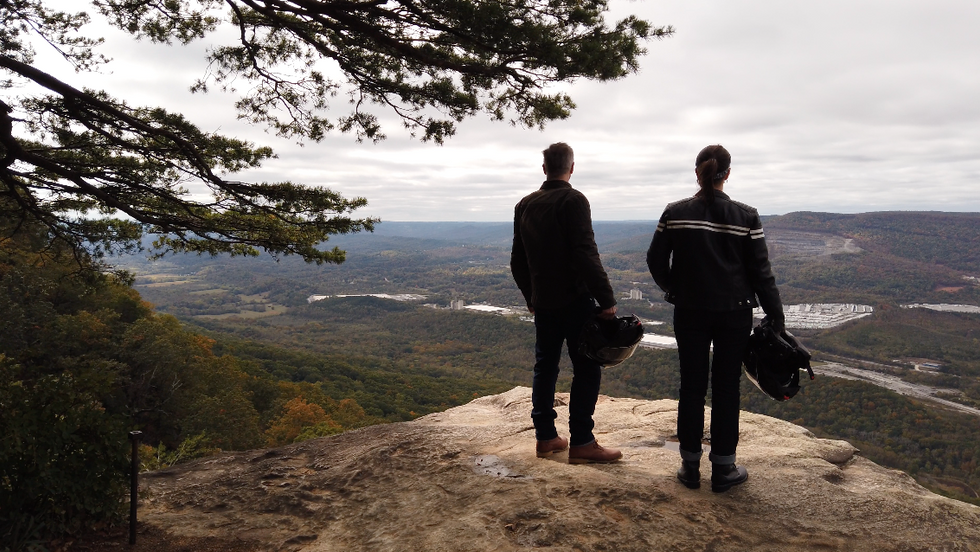 Atop Lookout Mountain