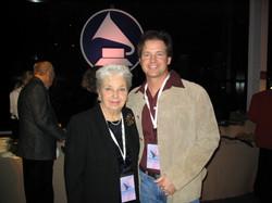 With my mom, not my Grammy - LA.