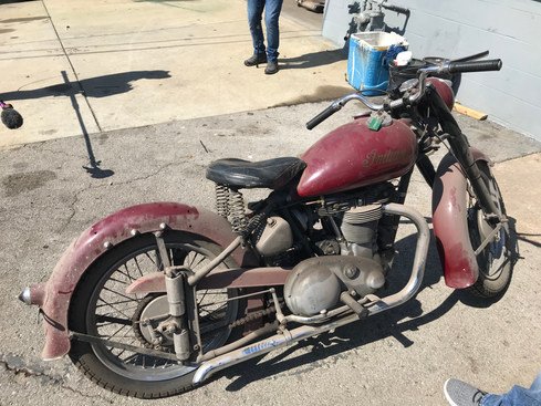 This Old Indian belonged to Johnny Cash!