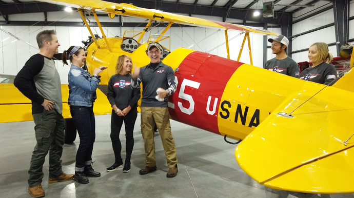 Tennessee Flying Machines with Aaron,Thea, Ted and Sarah Tippin.