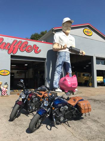 Dick The Muffler Man of Gallatin Tenness by way of California