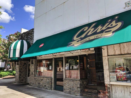 CHRIS' HOTDOGS -                    AUTHENTICALLY AMERICAN SINCE 1917!
