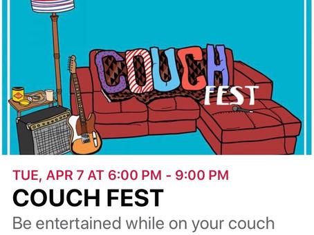 Cranford Couchfest 4/7