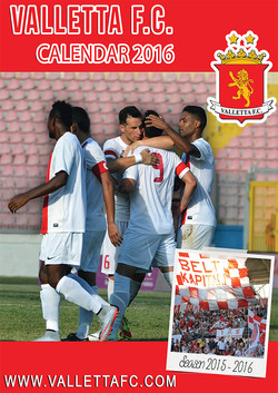 Valletta F.C. 2016 Calendar