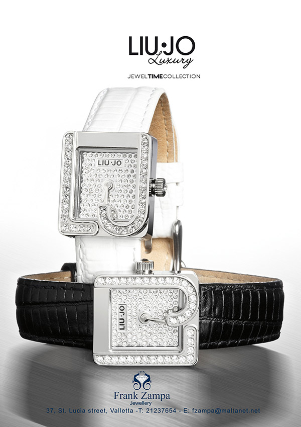 Frank Zampa Jewellery advert