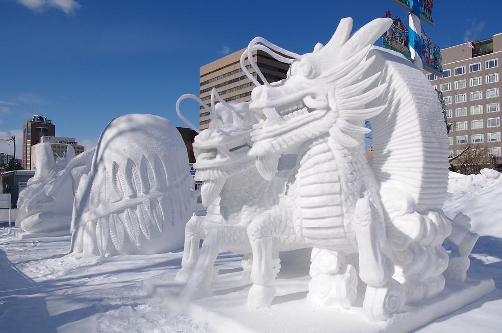 Festival de Neve Sapporo Japão