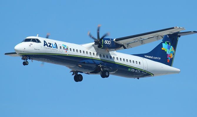 Os aviões ATR 72-600 têm capacidade para até 70 passageiros