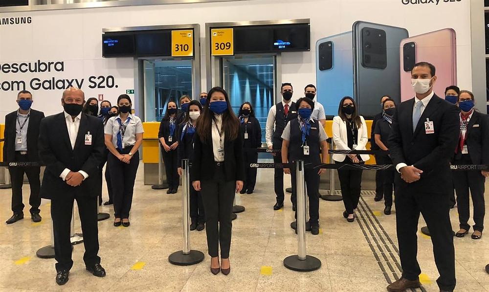 São Paulo-Miami retornou em agosto