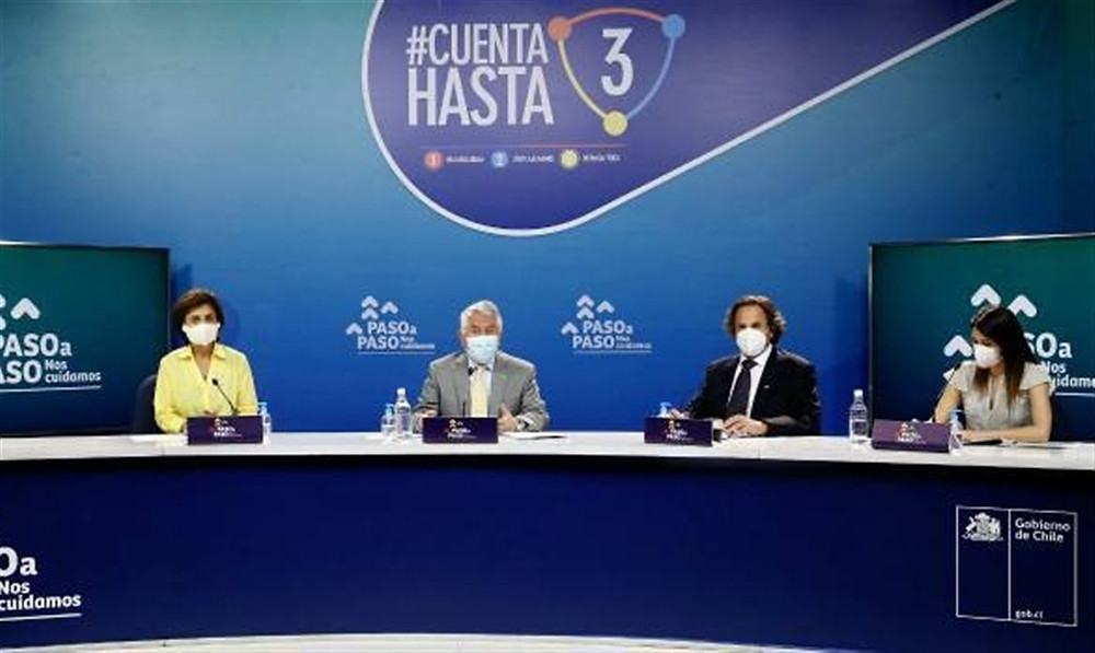 Autoridades chilenas falam sobre situação do país e avanço das comunas