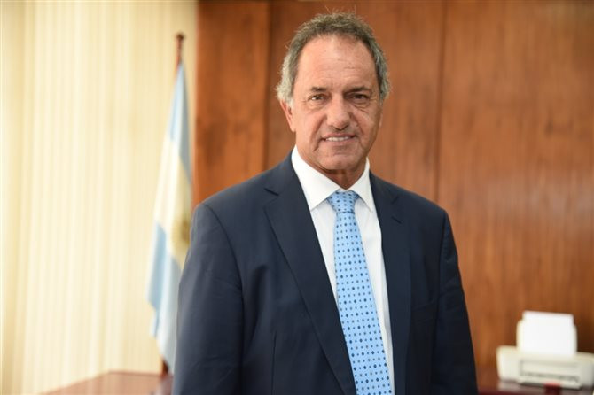 Embaixador da Argentina no Brasil, Daniel Scioli