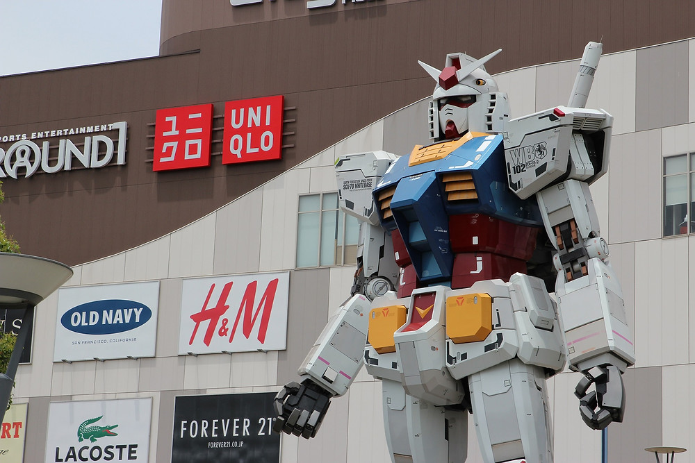 Gundam (Foto: Divulgação)