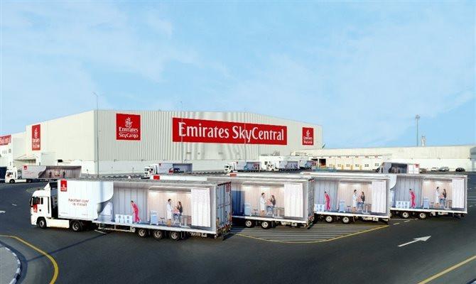 Emirates SkyCargo criará hub em Dubai dedicado para a distribuição da vacina contra a covid-19