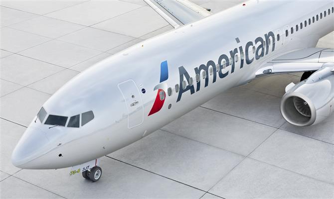 American Airlines elimina taxas de alteração de voos internacionais