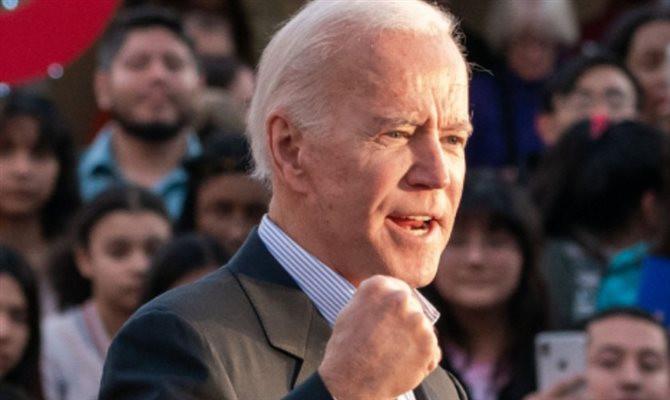Reprodução site Joe Biden