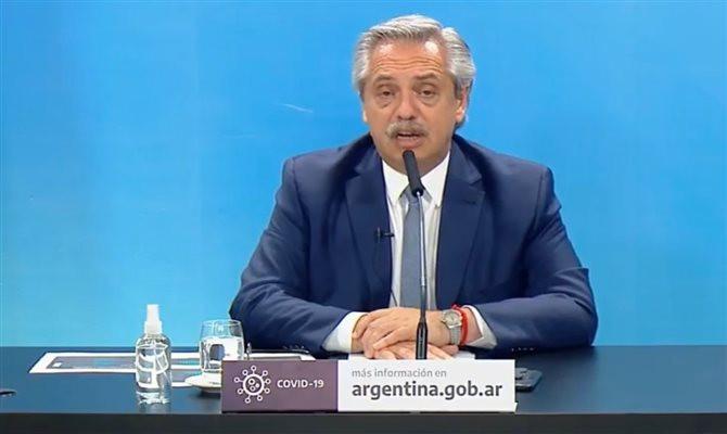 Fernandez ressaltou que a pandemia ainda não foi erradicada