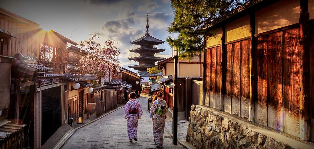 Ninenzaka Kyoto Japão