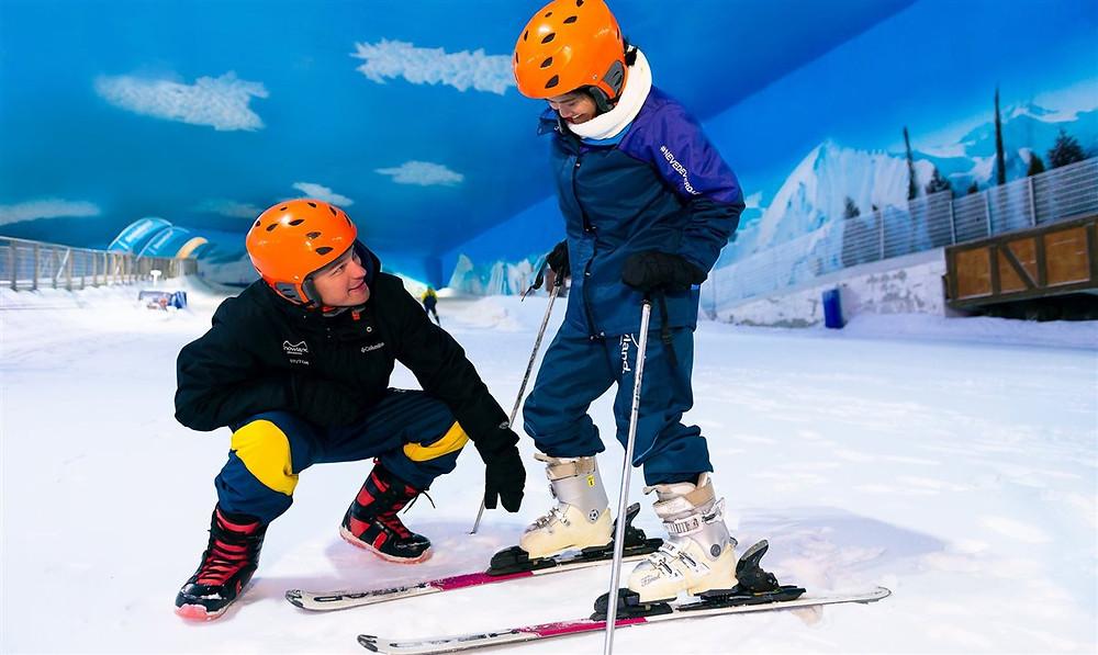 Snowland já supera visitação mensal de 2019