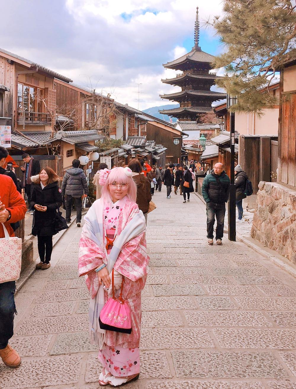 Julynha Toys em Kyoto