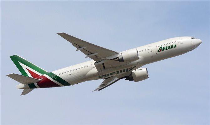 Todas as aeronaves da Alitalia são higienizadas diariamente com produtos de alta potência