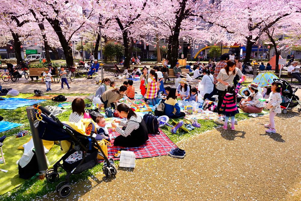 Kinshi Park, Tokyo Japan