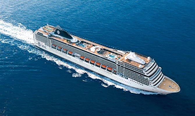 A viagem de 119 dias será realizada a bordo do MSC Poesia