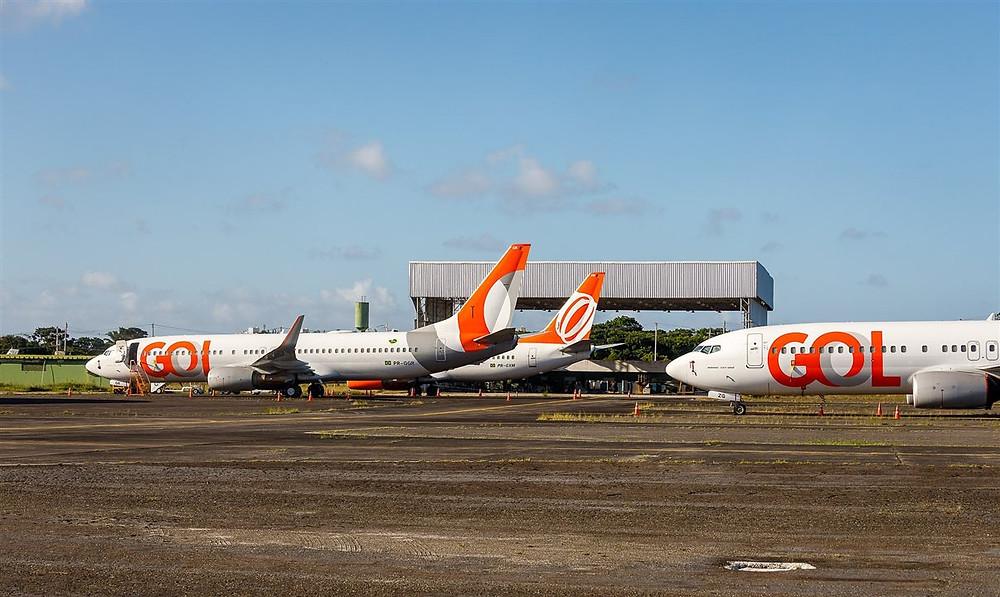 O primeiro pouso do Boeing 737-800 da Gol está previsto para as 14h desta sexta.
