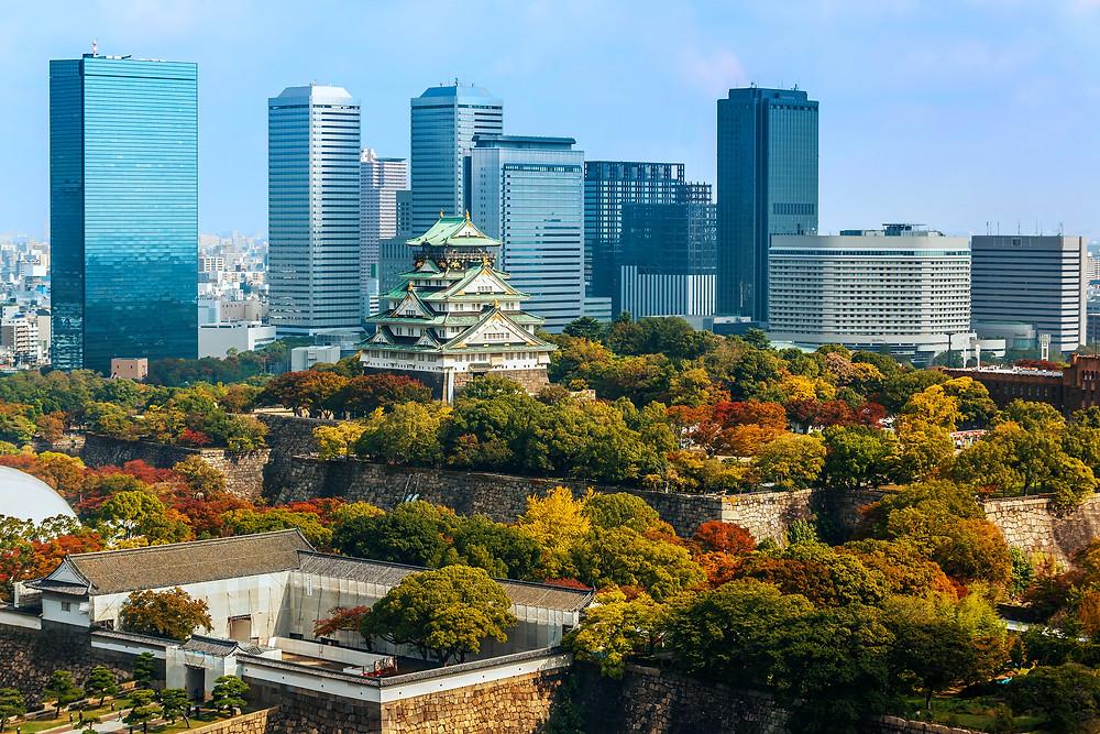 Castelo de Osaka Japão
