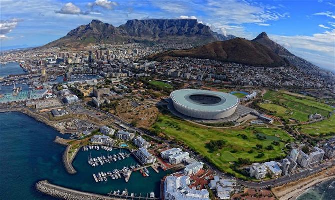 Cape Town é um dos principais destinos da África do Sul