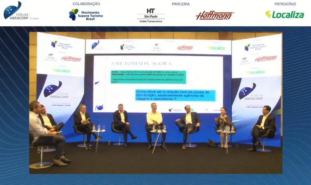 6º Fórum Abracorp reuniu líderes do mercado para debaterem sobre a retomada imediata das viagens a negócios
