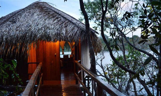 Hotéis de selva sustentáveis podem ser uma boa alternativa para quem busca viagens seguras no Brasil
