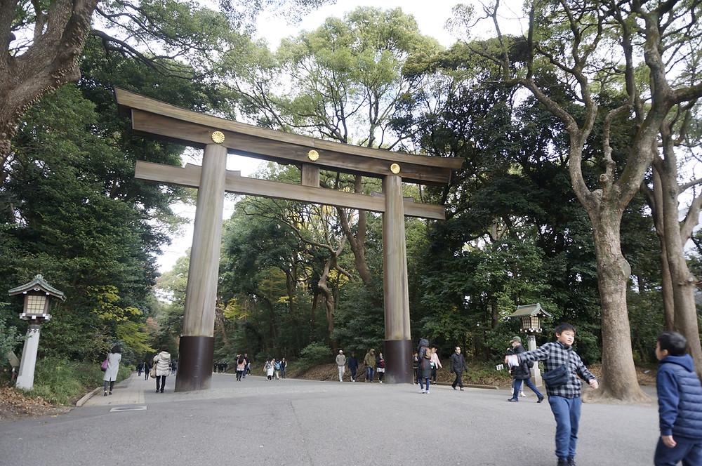 Santuário Meiji-Jungu (Foto: Quickly Travel/Arquivo pessoal)