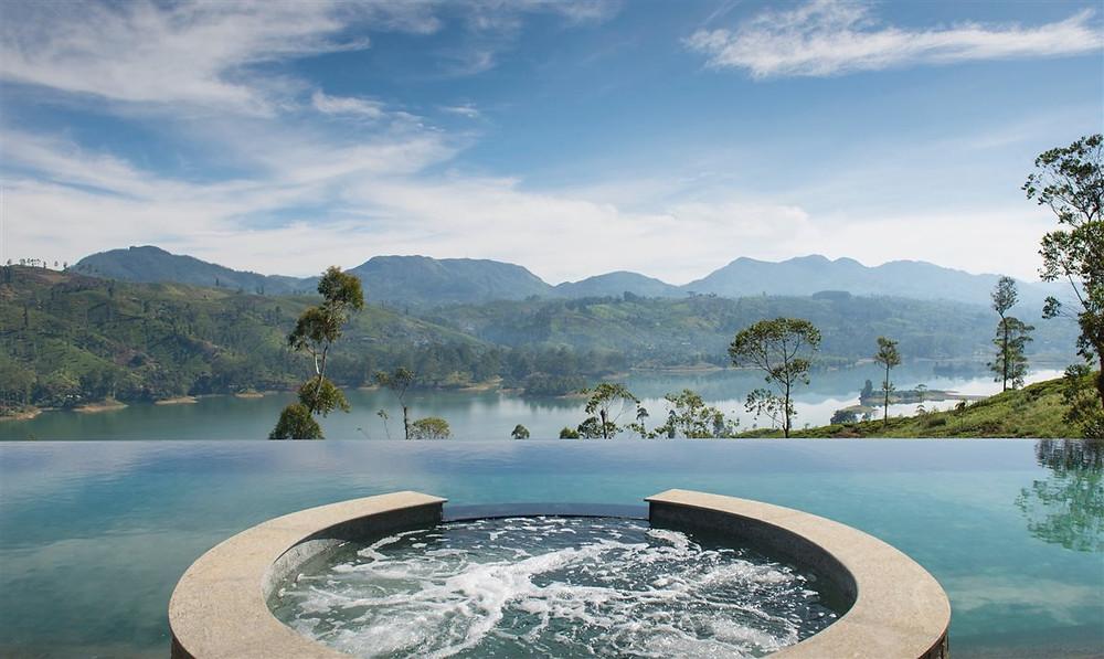 Localizado na região dos chás de Ceilão, o Tea Trails oferece cinco bangalôs com vista para as montanhas