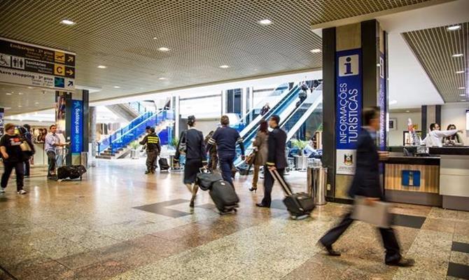 Aeroporto Salgado Filho, em Porto Alegre