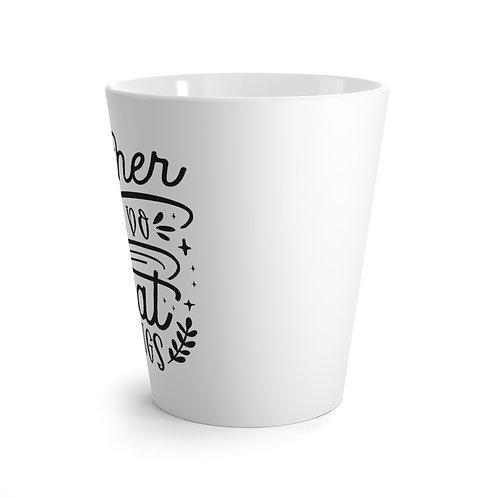 Together is Better Latte Mug