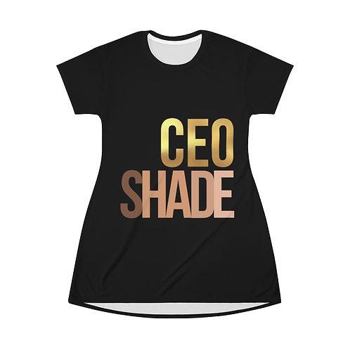 Chic CEO T-Shirt Dress