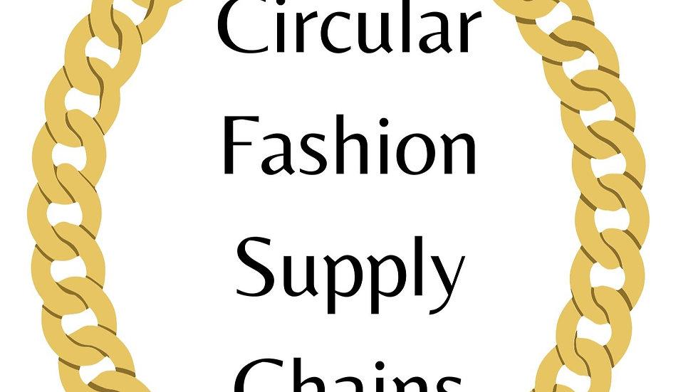 Circular Fashion Supply Chains
