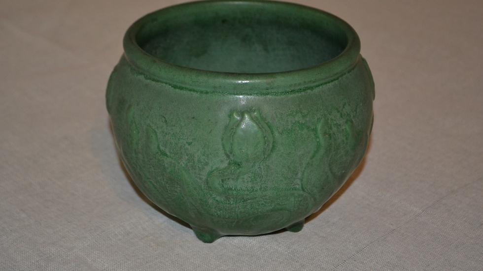 Owens Jardinière, great green glaze