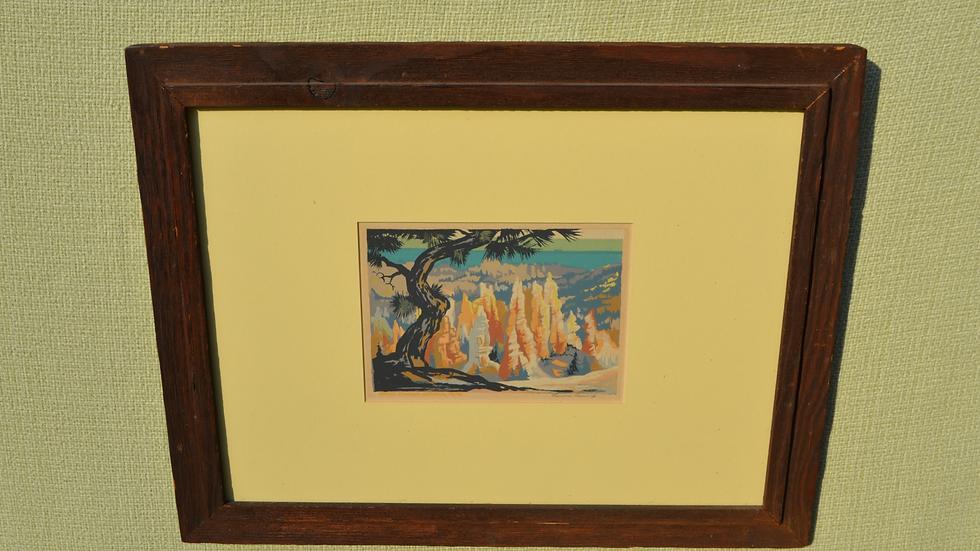 Serigraph, Bryce Canyon, by Louis Ewing.