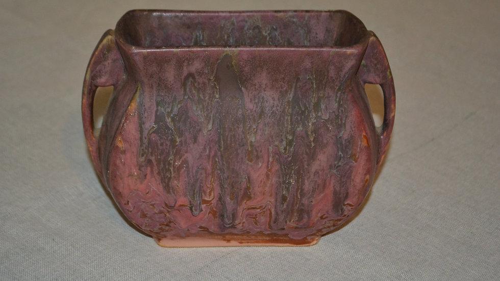 Roseville Cornelian II pillow vase,